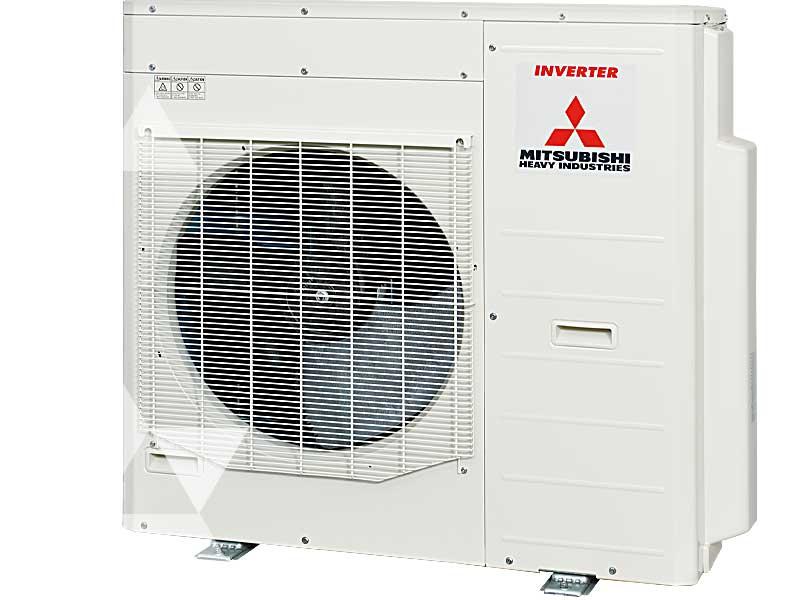 Caratteristiche Tecniche Unità esterna MITSUBISHI MULTISPLIT kW 12,50